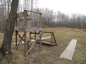 Gun Range Observation Platform
